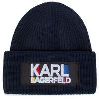 Czapka KARL LAGERFELD - 201W3414 Navy