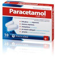 Paracetamol Polfa-Łodź tabl. 0,5g 50tabl. (5909990642595)