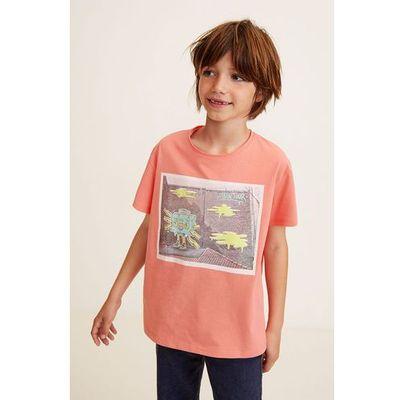 T-shirty dla dzieci Mango Kids ANSWEAR.com