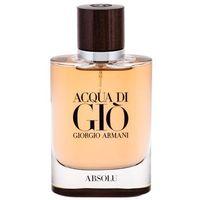 Giorgio Armani Acqua di Gio Absolu woda perfumowana 75 ml dla mężczyzn, 992901