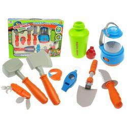 Kindersafe Akcesoria biwakowe dla dzieci 10 elementów 008-80e