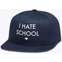 czapka z daszkiem DIAMOND - I Hate School Navy (NVY) rozmiar: OS
