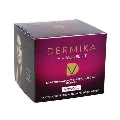 V-modelist 40+ krem poprawiający elastyczność na dzień 50ml Dermika