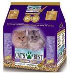 Żwirek nature gold żwirek dla kotów długowłosych 40l marki Cat's best