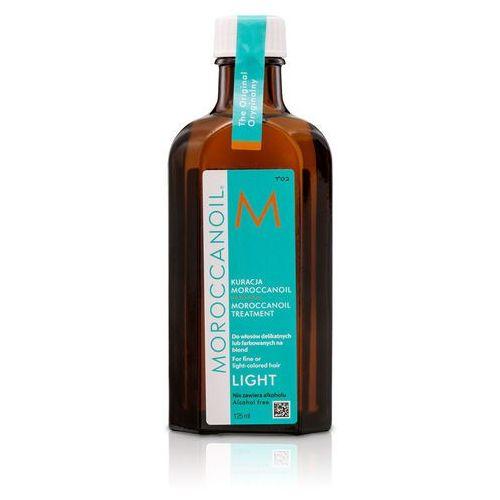 MoroccanOil Oil Treatment Light Naturalny olejek arganowy do włosów cienkich i delikatnych 100ml, 902