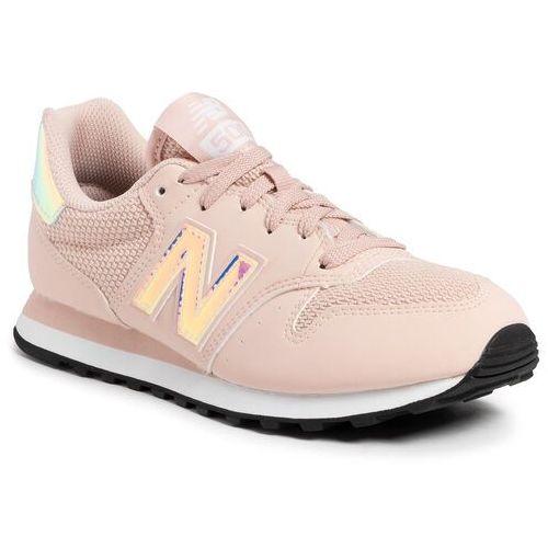 New balance Sneakersy - gw500hgy różowy