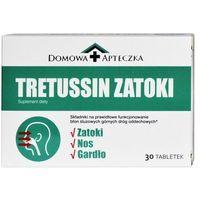 Tabletki Tretussin Zatoki, 30 tabletek - Długi termin ważności! DARMOWA DOSTAWA od 39,99zł do 2kg!
