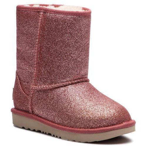 Buty UGG - Kids Classic Short II Glitter 1098491K K/Pink