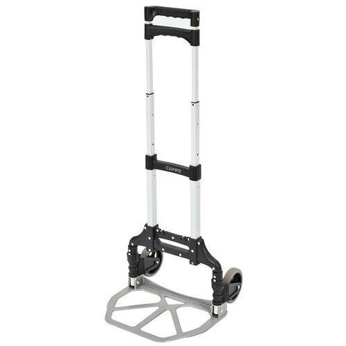 Campz wózek transportowy, czarny/srebrny 2021 walizki na kółkach