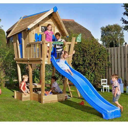 Domek jungle crazy playhouse na platformie xl marki Jungle gym