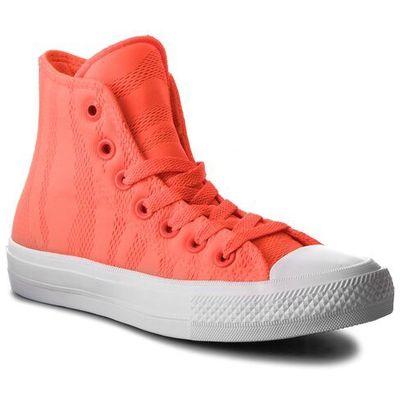 7edb2d175bd62 Trampki - ctas ii hi 155492c hyper orange/white/gum, Converse, 35-41 eobuwie .pl