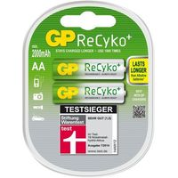 Produkt z outletu: Bateria GP ReCyko+ 2x2100AA (4891199089183)