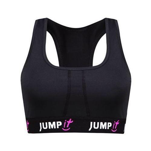JUMPit - Stanik sportowy czarny - M, kolor czarny