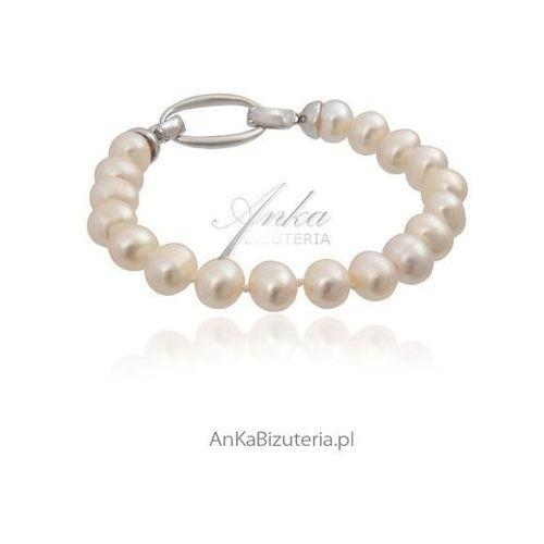 Ankabizuteria.pl piękna bransoletka z pereł w stylu lat 50. coco chanel marki Anka biżuteria