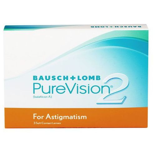 Bausch & lomb Purevision 2 hd for astigmatism 3 szt.