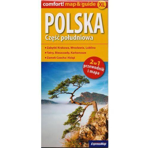 Polska Część południowa 2w1 przewodnik i mapa (2014)