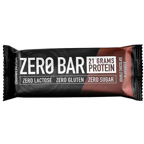 Baton zero bar - 50g - double chocolate Biotech usa