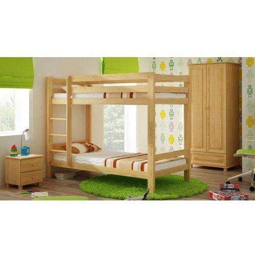 łóżko Drewniane Piętrowe 90x200 Meble Magnat