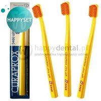 cs 5460 blister happyset ultra soft - zestaw 3 wyjątkowych szcz. do zębów marki Curaprox