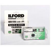 aparat jednorazowy z filmem cz/b hp 5 marki Ilford