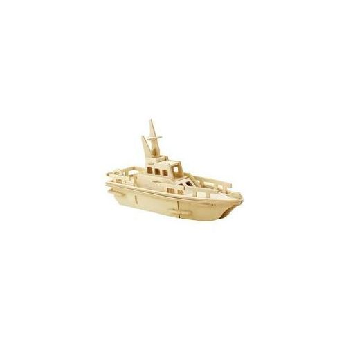 Puzzle drewniane 3D Łódź