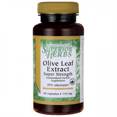 Swanson Olive Leaf Extract (liść oliwny) 750mg - (60 kap)