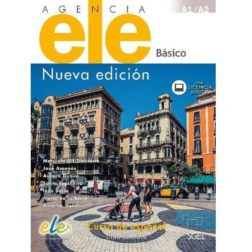 Agencia ELE Basico A1+A2 Podręcznik nueva edicion (2017)
