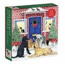 Christmas Cottage Square Boxed 1000 Piece Puzzle Scott, Pat