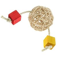 Hp small animal Naturalna zabawka dla szynszyli marki happypet