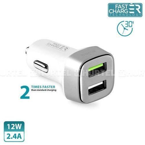 Puro Ładowarka mini car fast charger (fcmch2usb24scwhi) darmowy odbiór w 21 miastach!