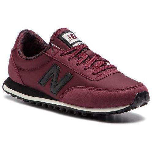 New balance Sneakersy - wl410bbw bordowy