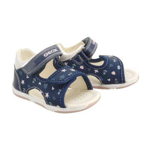 b920ya s.tapuz g. 0aw54 c0694 navy/pink, sandały dziecięce, rozmiary: 20-25 marki Geox