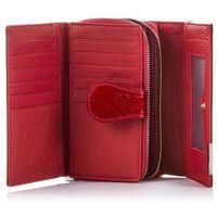 Skórzany portfel damski lakierowany jennifer jones 5261