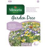 Kwiaty niskie długo kwitnące: Powój, Chaber, Nagietek 8g Garden Deco | Nasiona Garden Deco Vilmorin, 5907617322110