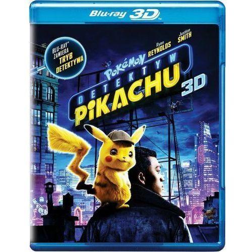 POKEMON DETEKTYW PIKACHU (2BD 3D) (Płyta BluRay)