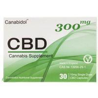 Canabidol kapsułki CBD 300 mg - 30 kapsułek (8438679163290)