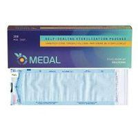 Torebki/torebka do sterylizacji 90x260mm samoprzylepne 200sztuk marki Medal s.c