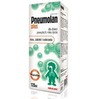 Płyn PNEUMOLAN PLUS Płyn 120ml