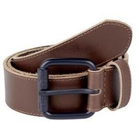 pasek BENCH - Leather Belt Dark Brown (BR052)