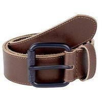 pasek BENCH - Leather Belt Dark Brown (BR052)