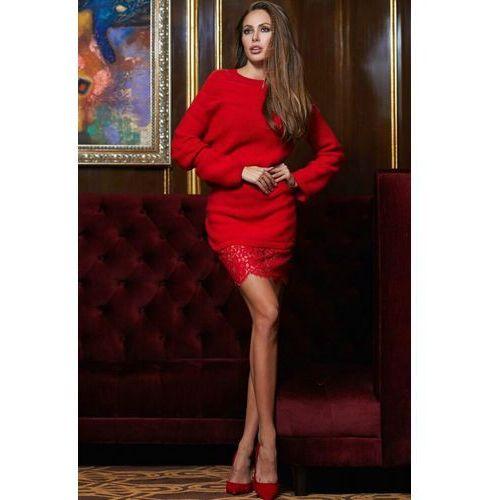 Sukienka DREAMY RED, kolor czerwony