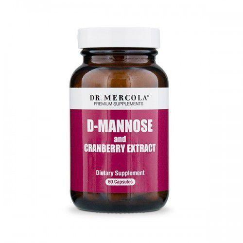 Kapsułki D-Mannoza z żurawiną 60 kapsułek - Dr Mercola,