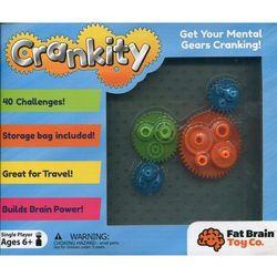 Fat brain toy Crankity kółka zębate gra logiczna
