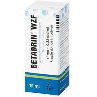 Krople Betadrin krople do nosa 10 ml.fl.