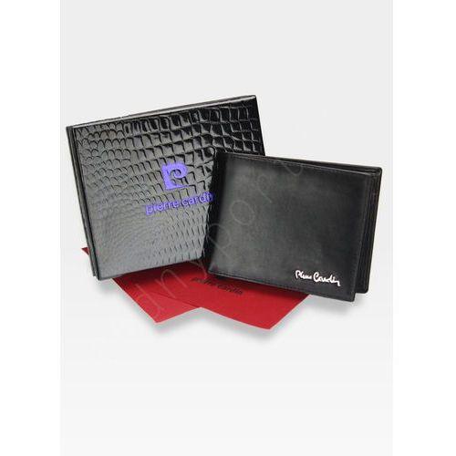 0f4e78fd9e051 Portfel poziomy męski skórzany czarny tilak06 8806 pudełko ochrona rfid -  czarny marki Pierre cardin