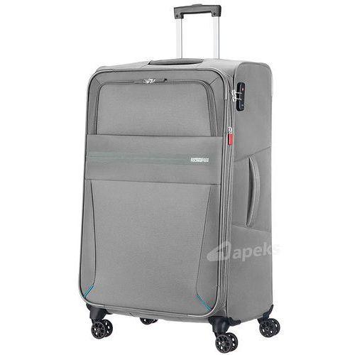 5db5a0f1f92e7 Walizka duża American Tourister Summer Voyager - Volt grey - fotografia  produktu