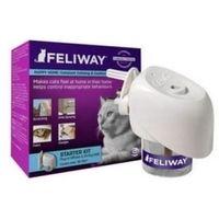 - kocie feromony zestaw startowy (dyfuzor+wkład) marki Feliway