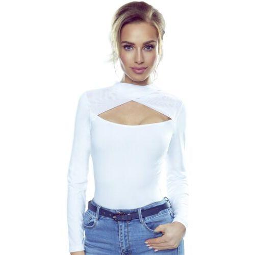 Gabriela koszulka bawełniana damska Eldar Romantica, kolor biały