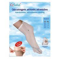 Pończochy samonośne przeciwżylakowe, przeciwzakrzepowe, i klasa kompresji, ucisk 18-21 mmhg - unisex - czsalus marki Czsalus (włochy)