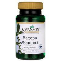 Kapsułki Swanson Bacopa Monniera (Bakopa Drobnolistna) 50 mg 90 kapsułek